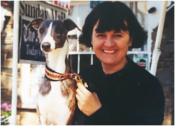 Ulla and a Piaffe Whippet